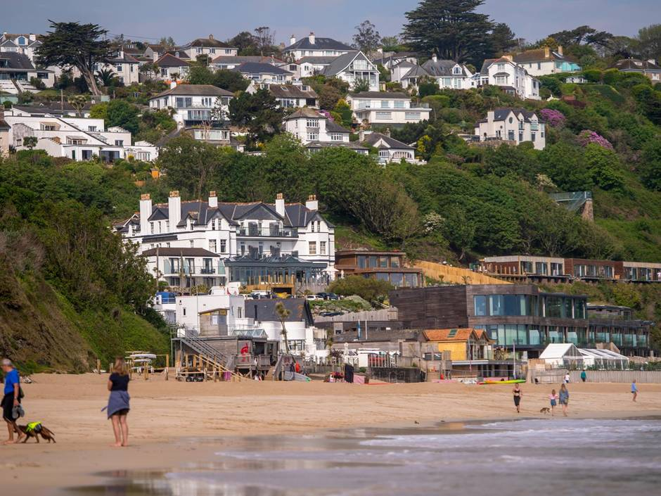 TheCarbis Bay Hotel, near St Ives, Cornwall, is hostingthe G7 gathering. Bloomberg