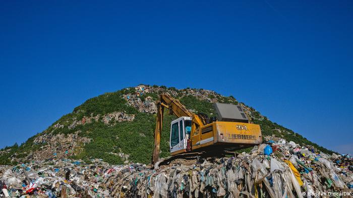Pata Rât landfill, Cluj, Romania